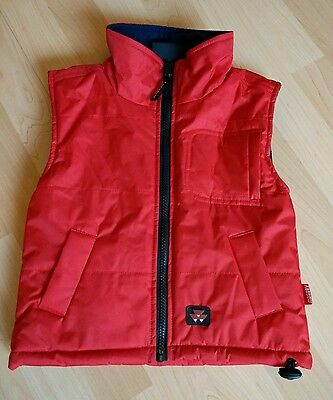 Massey Boys Red Gilet Age 3-4 Years same/next day post!!!