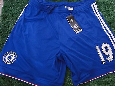 Chelsea Home Shorts 2015 -16 Bnwt Size Xl  Mens No 19-- Diego Costa