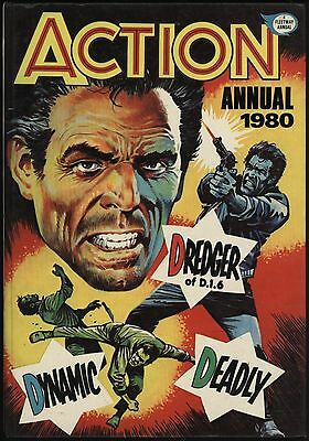 25% Off! Action Annual 1980 Nice Condition With Great Page Quality - New Hookjaw