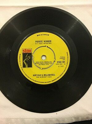 "Judy Clay & William Bell - Private Number - 7"" Single"