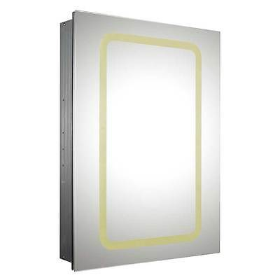 Whitehaus WHKAL7055-I Recessed Single Door Cabinet with Adjustable Shelves