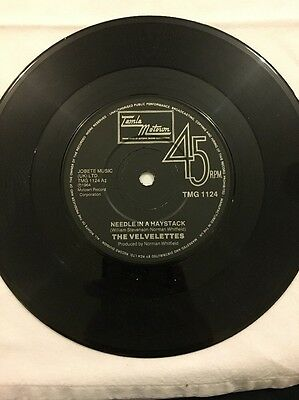 "The Velvelettes - Needle In The Haystack - 7"" Single (reissue)"