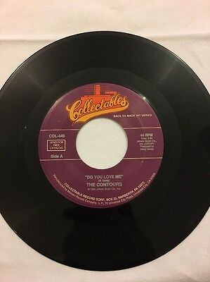 "The Contours - Do You Love Me - 7"" Single (reissue)"