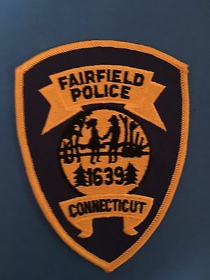 Fairfield Connecticut  Police Shoulder Patch