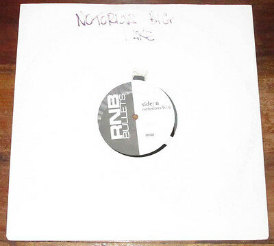 """Notorious Big I Like / Aaliyah If I Was Your Girlfriend 12"""" Vinyl Promo"""