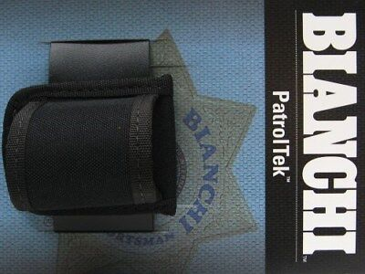 BIANCHI Black 8026 PATROL TEK Size 2 Compact FLASHLIGHT Holder New! 31315