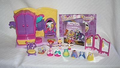 Little Tikes Cinderella Glass Slipper Get Ready for the Ball 0503 14pc COMPLETE