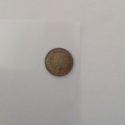 Great Britten Silver 1944 Three pence EXCELLENT CONDITION