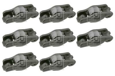 8x Rocker Arm End Pivot for CITROEN RELAY 2.0 02-on HDI DW10UTD 244 Diesel Febi
