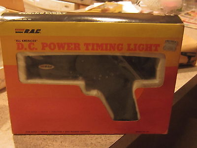Vintage RAC All American D.C. Power Timing Light Model 523 Made in USA
