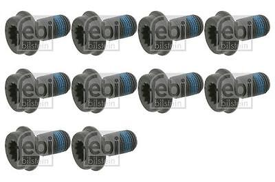 10x Flywheel Bolt Screw Gearbox/Rear for VW GOLF 2.3 2.8 2.9 92-06 1H 1J VR6