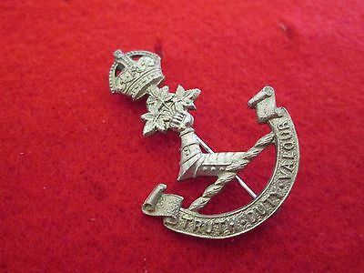 WWII KC Royal Military College Canada 'Truth Duty Valour' Badge