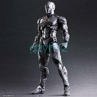 Marvel Play Arts Kai Iron Man Limited Color Ver. Action Figure Cn Toy New In Box