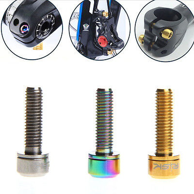 M5x18mm Bike Bicycle MTB Bolt Mountain Ultralight Stem Screw With Washers Gasket