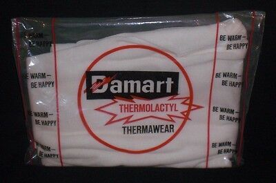 NOS Vintage 1970's Damart Thermolactyl Thermawear Thermal Long Underwear Pants L