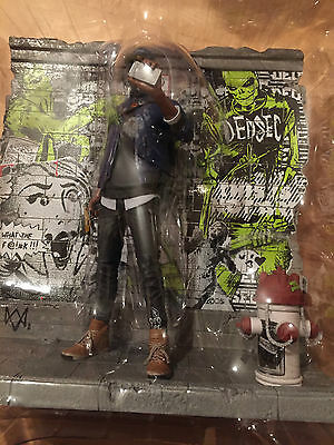 Watch Dogs 2 Dedsec Marcus Holloway Figur Artbook PS4 PlayStation 4