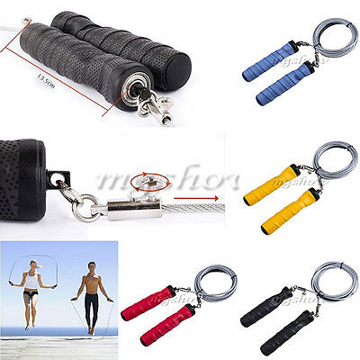 Skipping Speed Rope Weighted Fitness Boxing Steel Wire Crossfit Jumping Jump Gym