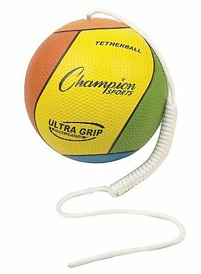 Champion Sports Ultra Grip Tether Ball - Playground - Tetherball For Kids!
