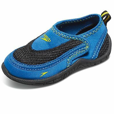 Speedo Toddler Surfwalker Pro 2.0 Swimming Water Shoes - Size 10/11 - Blue/Black