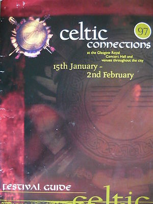 Celtic Connections 1997 Festival Programme - Capercaillie/brian Kennedy/altan