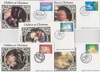 Gb Stamps First Day Cover Set 1987 Benham Small Silk Collection Number 08
