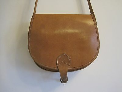 VINTAGE LEATHER CARTRIDGE / SHOT ~ SHOOTING / HUNTING BAG - Great Quality
