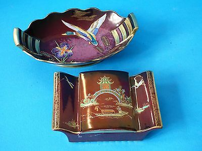Collectable Carlton Ware Pottery Rouge Royale Trinket Dish Pot Buy 1 Get 1 Free