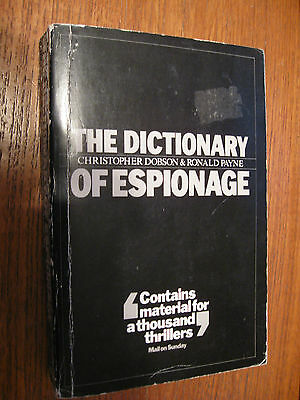 The Dictionary of Espionage by HarperCollins Publishers (Paperback, 1986)