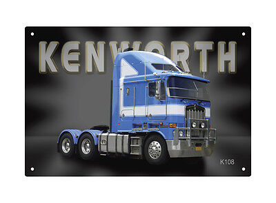 KENWORTH TRUCK K108 TIN SIGN 20 X 30 cm.  KENWORTH K108 TIN SIGN 20X30 cm  small