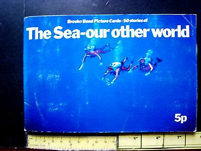 "Brooke Bond ""the Sea Our Other World"" Full Set Of Cards In Complete Album"