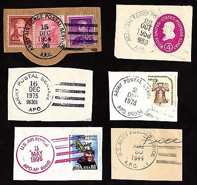 Stamps & Postmarks UNITED STATES AMERICA AIR FORCE & ARMY POSTAL SERVICE Mixed