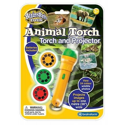 Brainstorm Toys Animal Torch and Projector Brand New