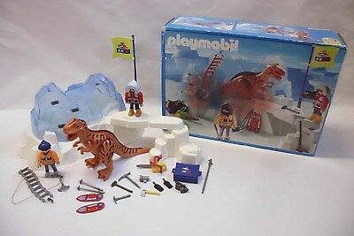 Playmobil 3170 EX-DI Dinosaurier Expedition Eisberg mit Verpackung