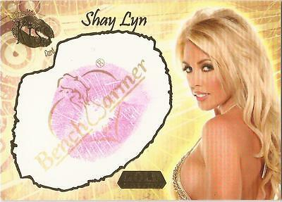 "Benchwarmer 2007 Gold Edition - 14 of 24 ""Shay Lyn"" Kiss Card"