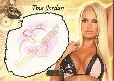 "Benchwarmer 2007 Gold Edition - 11 of 24 ""Tina Jordan"" Kiss Card"