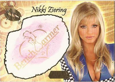 "Benchwarmer 2007 Gold Edition - 6 of 24 ""Nikki Ziering"" Kiss Card"
