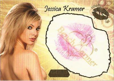 "Benchwarmer 2007 Gold Edition - 18 of 24 ""Jessica Kramer"" Kiss Card"