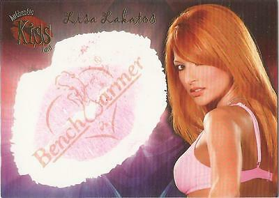 "Benchwarmer 2006 Series 1 - 7 of 16 ""Lisa Lakatos"" Kiss Card"