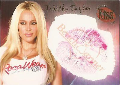 "Benchwarmer 2006 Series 1 - 15 of 16 ""Tabitha Taylor"" Kiss Card"