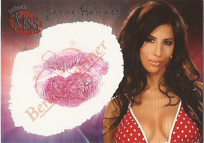 "Benchwarmer 2006 Series 1 - 11 of 16 ""Jaime Hammer"" Kiss Card"