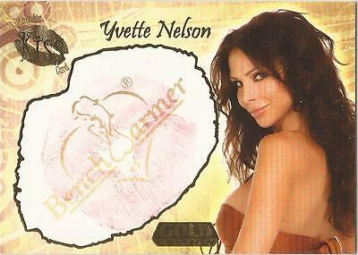 "Benchwarmer 2007 Gold Edition - 7 of 24 ""Yvette Nelson"" Kiss Card"