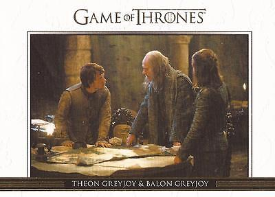 Game of Thrones Season 3 - DL10 GOLD Parallel Relationships Chase Card #261/300