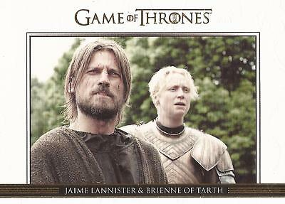 Game of Thrones Season 3 - DL16 GOLD Parallel Relationships Chase Card #226/300