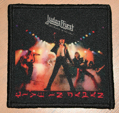 "JUDAS PRIEST ""UNLEASHED IN THE EAST"" silk screen PATCH"