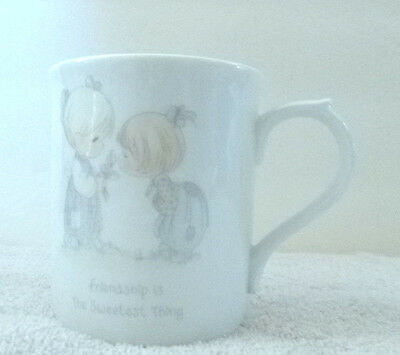 Precious moments mug friendship is the sweetist thing