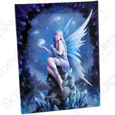 Fantasy Gothic Art Canvas Wall Plaque~Star Gazer~by Anne Stokes~21~uk seller