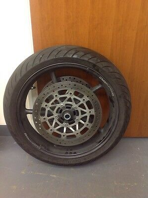 Triumph Street Triple 675 Front Wheel And Tyre