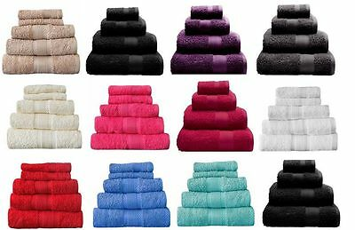 20 Pcs Wholesale Job Lot 100% Cotton Towels Face Cloth Hand Towel Bath Towel