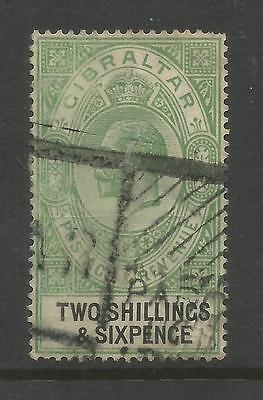 Arcade 99p Gibraltar 1921 2/6d Used Issue