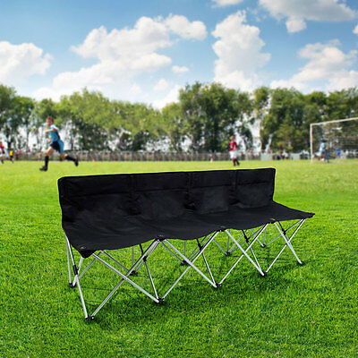 Tofasco 4 Person Folding Bench with Carry Bag event Chairs